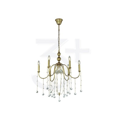 CHANDELIER 3+DL-P0261/6-AH