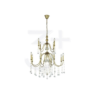 CHANDELIER 3+DL-P0259/8+4-AH