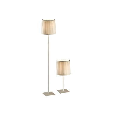 FLOOR LAMP 3+DL-CM1276-WH-VG