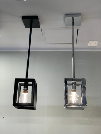 PENDANT LAMP FINISHING IN BLACK 3+ER1314-1BL